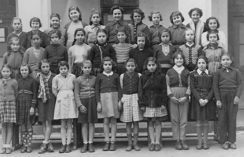 Philippeville - École Victor Hugo - 1952-1953 - CM2
